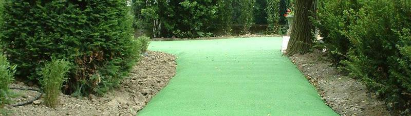 Pavimenti gomma per giardini, terrazzi, camminamenti