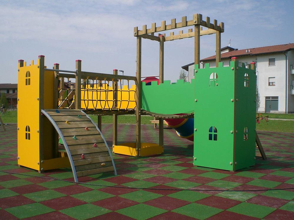 progettazione parco giochi per bambini