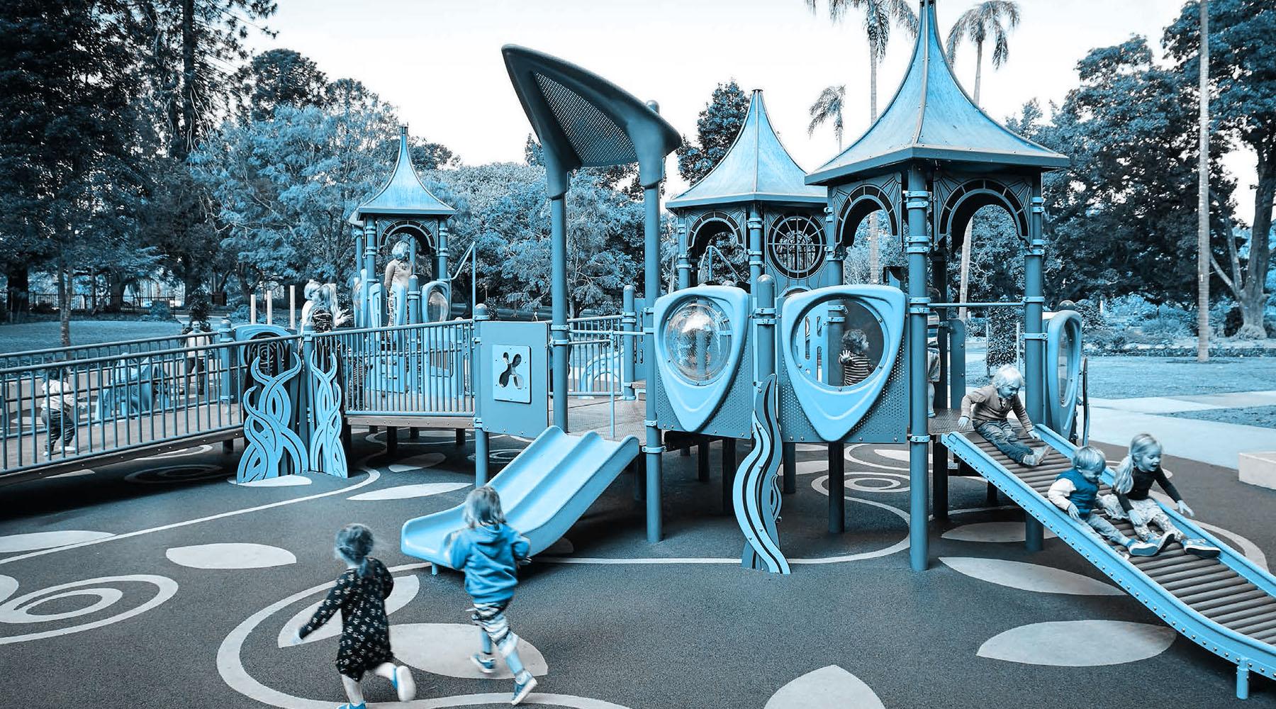 Parco Giochi E Pavimento In Gomma Antitrauma Abbiamo Cura Della