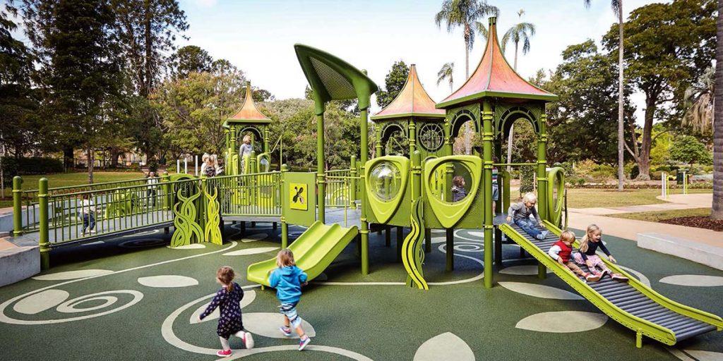 arredo urbano parco giochi