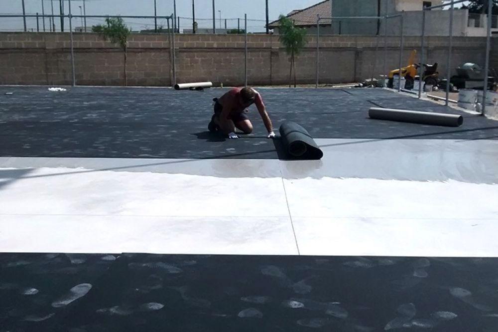 installazione pavimento polivalente