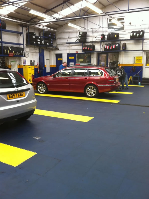pavimento garage
