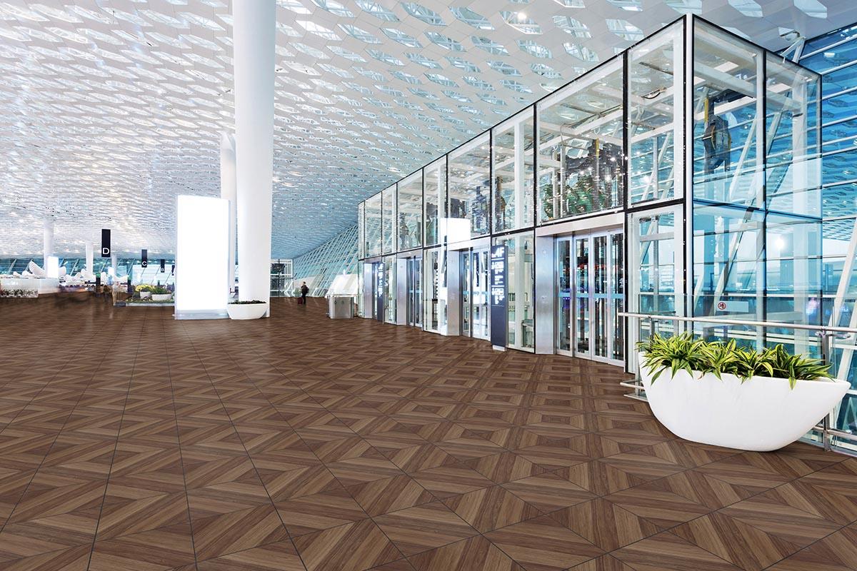 Il pavimento pvc con piastrelle autoposanti per intenri ed esterni - Pavimento pvc esterno ...